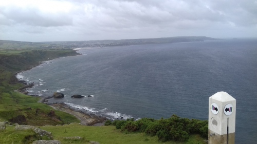View of Ballycastle from Fairhead
