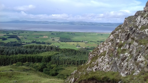 Rewarding views of Lough Foyle & Donegal Hills