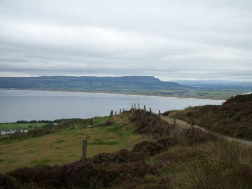 Looking across to Binevenagh